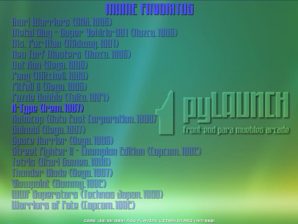 Ejemplo de fondo de lista personalizado mediante list_wallpaper