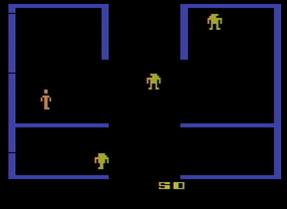Berzerk en Atari 2600